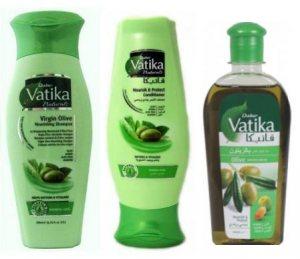 Подарочный набор для ухода за волосами Питание и увлажнение, Vatika Dabur