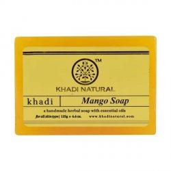 Аюрведическое мыло ручной работы Манго (Mango soap), Khadi