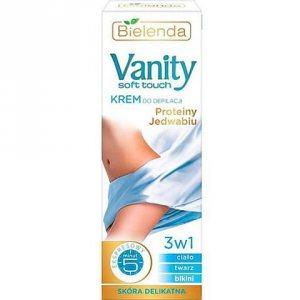 Крем для депиляции протеины шёлка (Vanity), Bielenda