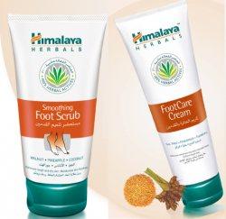 Скраб для ног + Крем для ног, Himalaya Herbals