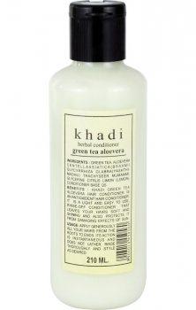 Аюрведический кондиционер для волос Зеленый Чай и Алоэ Вера, Khadi