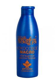 Кокосовое масло с брахми для укрепления и стимуляции роста волос, Aasha Herbals
