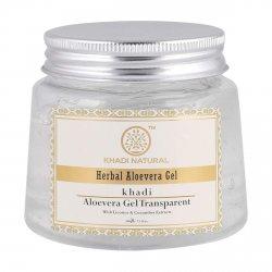Гель алоэ вера для лица прозрачный (Aloevera gel transparent), Khadi
