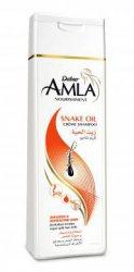 Шампунь со змеиным жиром для секущихся волос Amla Snake Oil, Dabur