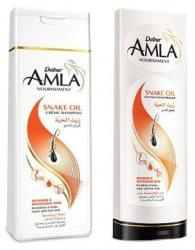 Шампунь и кондиционер для секущихся волос Snake Oil, Dabur