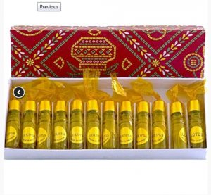 Эфирное масло Индийский Жасмин, Mogra perfume oil Shell Expo, 1 шт.