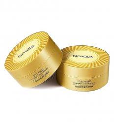 Гидрогелевые патчи увлажняющие с ионами золота и морскими водорослями (Eye mask hydraiting moisturize), Bioaqua
