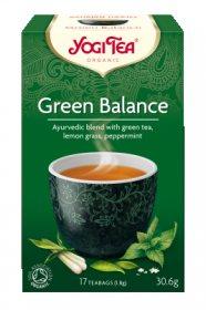 Аюрведический йога чай Green Balance, Yogi tea