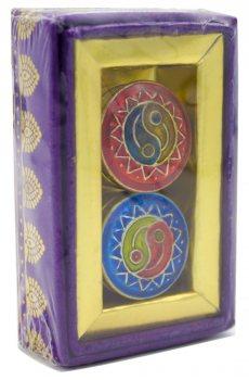 Натуральные сухие духи в латунной шкатулке, Song of India