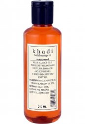 Аюрведическое массажное масло Сандал, Khadi