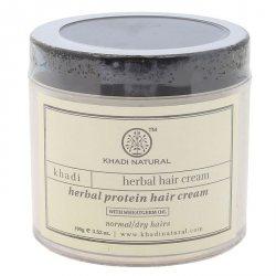 Аюрведический крем для волос с протеинами, Khadi