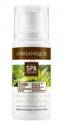 Омолаживающая сыворотка для лица с экстрактом белого и зеленого чая Immuno-Serum, Organique