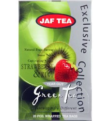 Чай Jaf Tea Strawberry&Kiwi в пакетиках