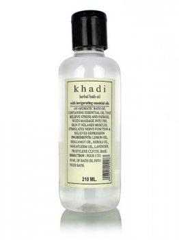 Масло-ароматерапия для ванны с эфирными маслами, Khadi