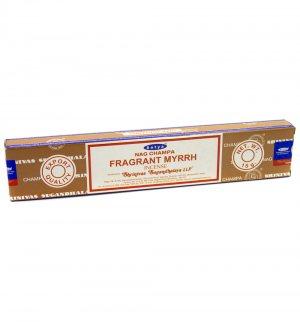 Благовония Ароматная Мирра (Fragrant Myrrh incense), Satya