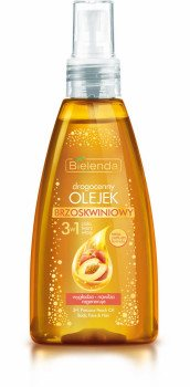 Драгоценное персиковое масло 3 в 1 для тела, лица и волос, Bielenda