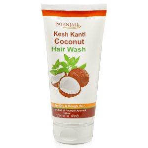 Кокосовый шампунь для сухих и поврежденных волос Kesh Kanti, Patanjali