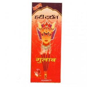 Благовония индийские Gulab(Роза), Hari Darshan