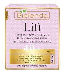 Дневной увлажняющий крем-лифтинг – против морщин 40  (SPF10), Bielenda