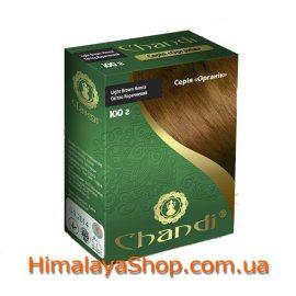 Травяная краска для волос Chandi Organic, Светло-Коричневая