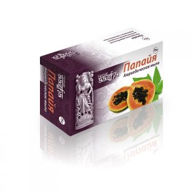 Аюрведическое мыло с папайей, Aasha Herbals