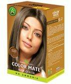 Натуральная краска для волос без аммиака Color Mate, Натуральная коричневая