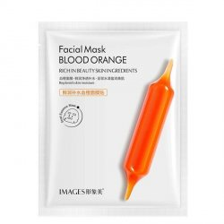 Увлажняющая тканевая маска с экстрактом красного апельсина (Facial Mask BLOOD ORANGE), Images