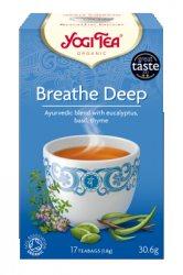 Аюрведический йога чай Breathe Deep, Yogi tea