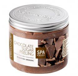 Шоколадный сахарный скраб-пилинг, Organique