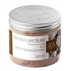 Маска для тела с глиной гассул Base, Mask&Wash Cream, Organique
