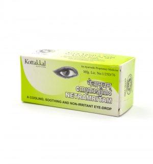 Капли для глаз Нетрамритам (Netramritam eye-drop), Kottakkal