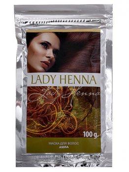 Натуральная маска для волос укрепляющая, Lady Henna