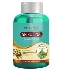 Спирулина с Морингой (Spirulina capsules with moringa), Patanjali