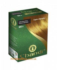 Травяная краска для волос Chandi Organic, Золотисто-Бронзовая