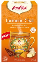 Аюрведический йога чай Turmeric Chai, Yogi tea