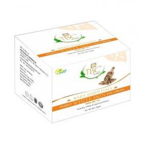 Натуральный отбеливающий крем для лица и шеи Bio White SPF 15+, ТВС