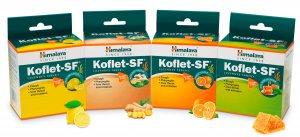 Леденцы от кашля (без сахара) Кофлет (Koflet-SF), Himalaya Herbals