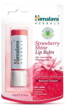 Бальзам для губ Клубничный блеск, Himalaya Herbals