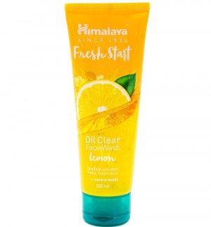 "Гель для умывания ""Свежий старт"" с лимоном (Fresh start oil clear face wash lemon), Himalaya Herbals"