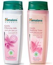 Смягчающее молочко и тоник для лица, Himalaya Herbals