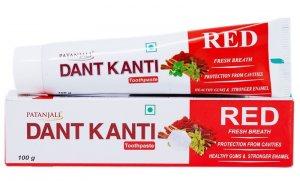 Зубная паста с красным перцем Дант Канти РЕД (Dant Kanti RED), Patanjali