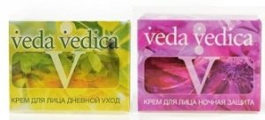 Кремы Дневной уход и Ночная защита, Veda Vedica