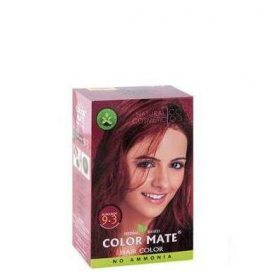 Натуральная краска для волос без аммиака Color Mate, Бургунд