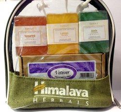 "Подарочный набор мыло ручной работы ""Амла, тамаринд, лимон"", Synaa"