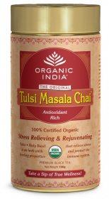 Лечебный аюрведический чай Tulsi Masala Chai, Organic India