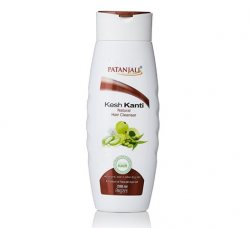 Укрепляющий натуральный аюрведический шампунь Kesh Kanti Natural, Patanjali