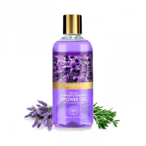 Гель для душа Лаванда и Розмарин (Lavender & Rosemary Shower Gel), Vaadi
