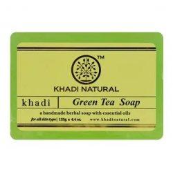 Аюрведическое мыло ручной работы Зеленый Чай (Green Tea soap), Khadi
