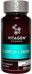 Витамин В комплекс + Энергия (B Complex + Energy), Vitagen