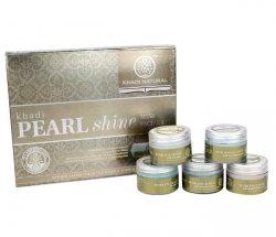 Подарочный набор для лица 5 в 1 PEARL SHINE, Khadi